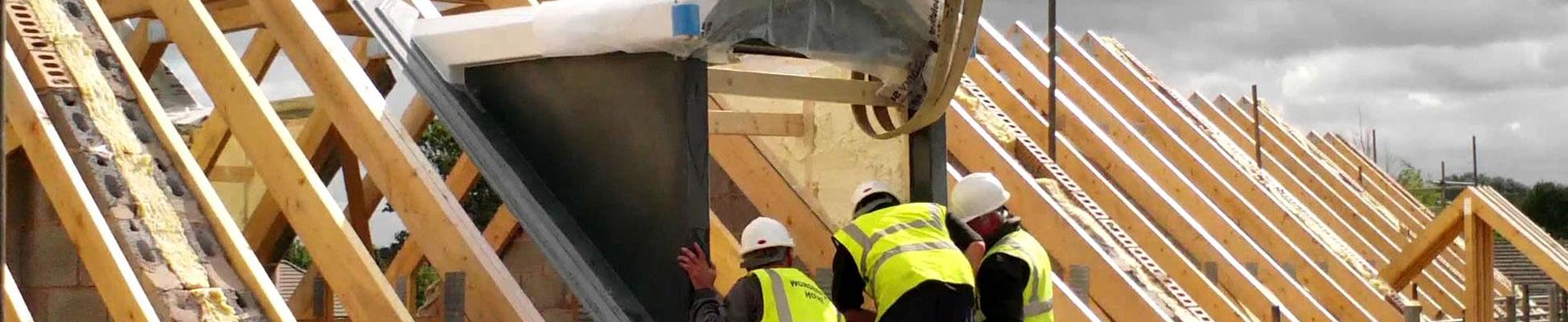 Dormer Roofing Header