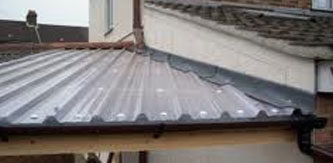 Pitched Roofs - Corrugated Clad Sheets