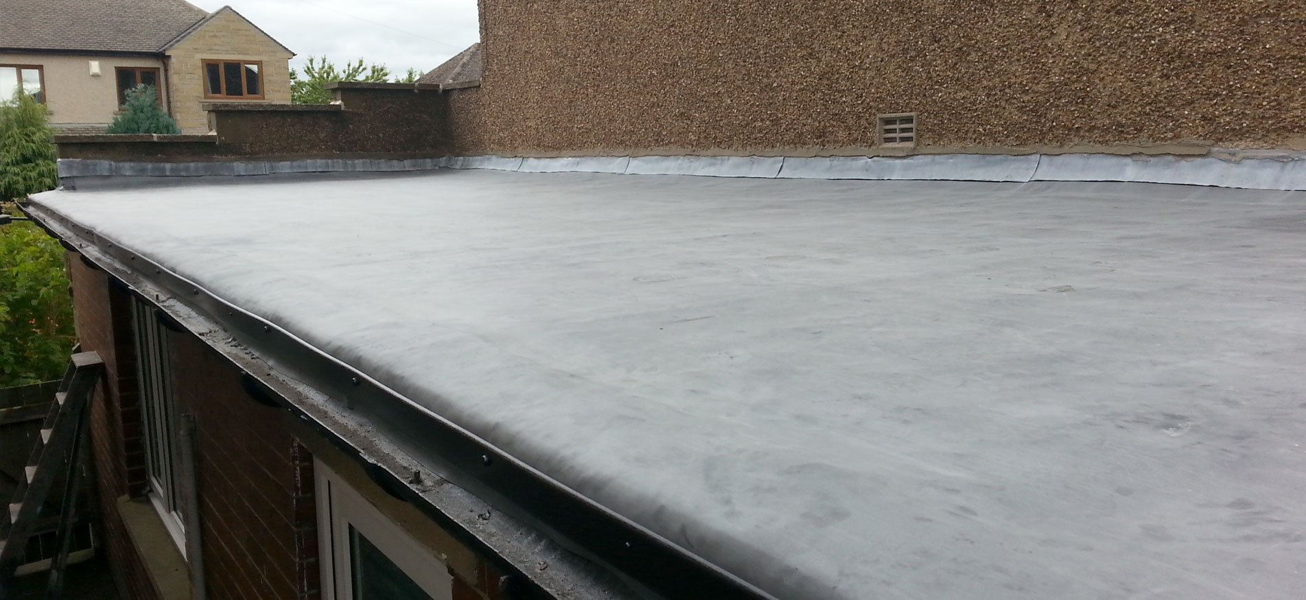 Flat Roofs.