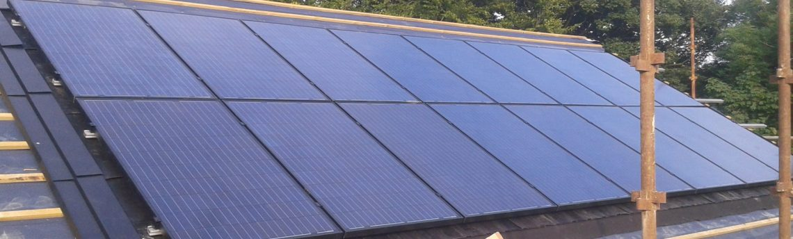 New Build Solar Panel Installation, Thornton-In-Craven