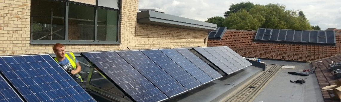 Solar Panel Installation, Pontefract Junior School