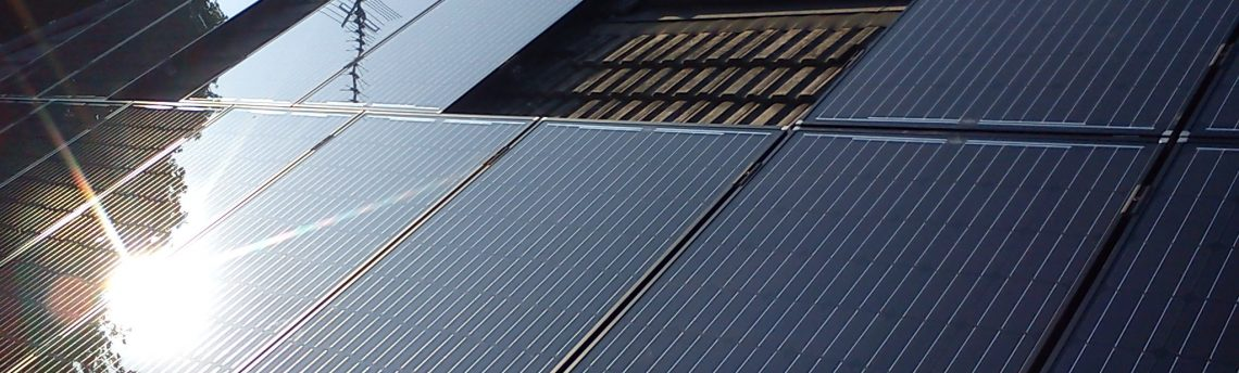 Black Solar Panels, Matlock
