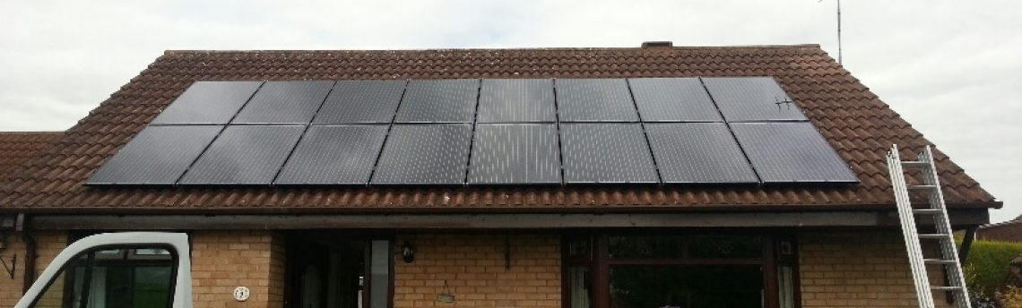 Solar Panel Install, Selby