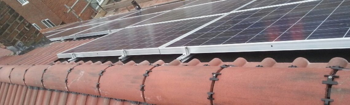 New Tiled Roof Featuring In-Roof Solar Panel Tray System, Newcastle