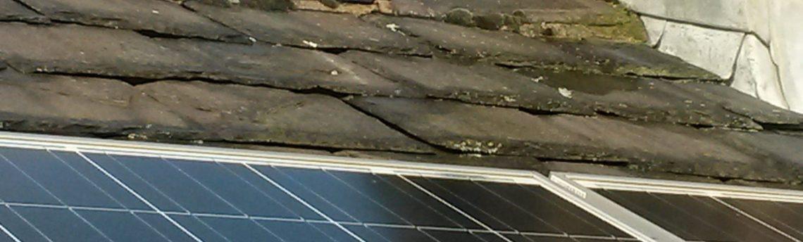 Solar Panel Repairs, Slades Road, Golcar