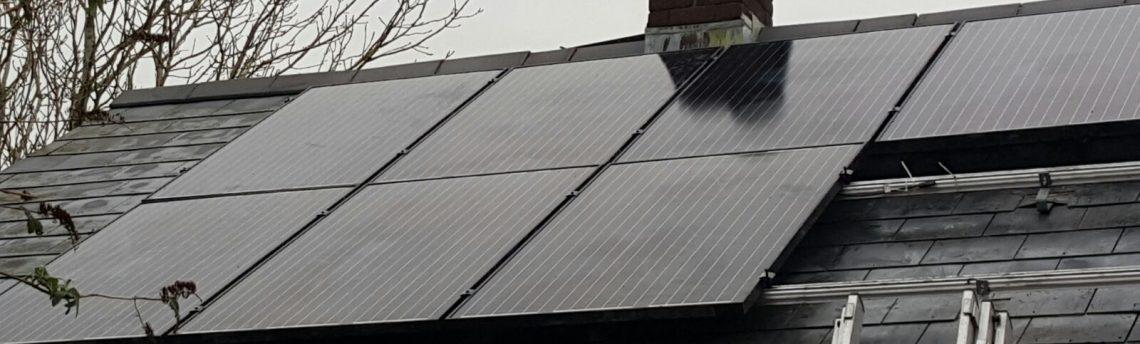 Solar Panel Install, Aberystwyth