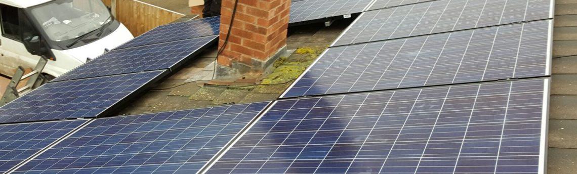 Solar Panel Install, Mansfield
