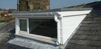 Dormer Roofing - Green Mineral