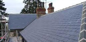 Pitched Roofs - Slate Roof